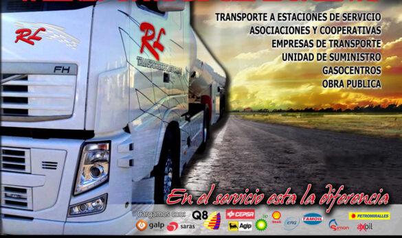 RL Transporte de Carburantes. Servicios