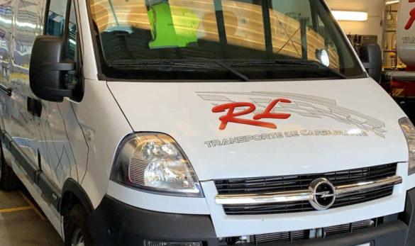 Furgón Taller RL Transporte de Carburantes